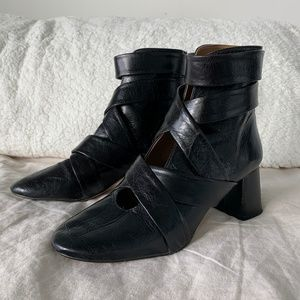Zara Ankle Boots with Straps